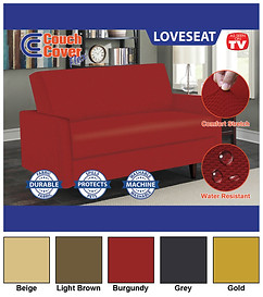 Couch Cover Flex - Loveseat (H-0261)