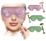 Jade Beauty-Facial Roller/Eye Mask P