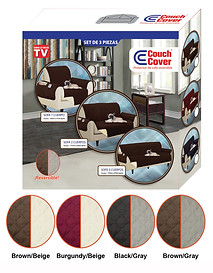 Couch Cover - Chair + Loveseat + Sofa (H-0203)