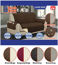Couch Cover - Loveseat (H-0186)