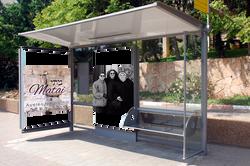 Ayelet Hashachar waits for the bus
