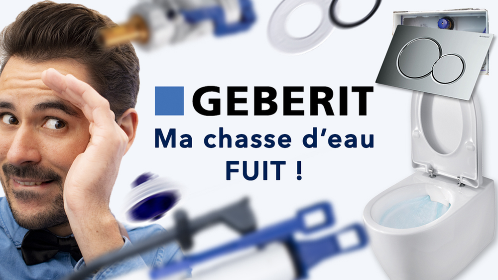 Comment Reparer Sa Chasse D Eau Geberit Wcsuspendu