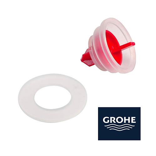 joint chasse d'eau grohe wc robinet flotteur et mecanisme 43733000 et 42310000