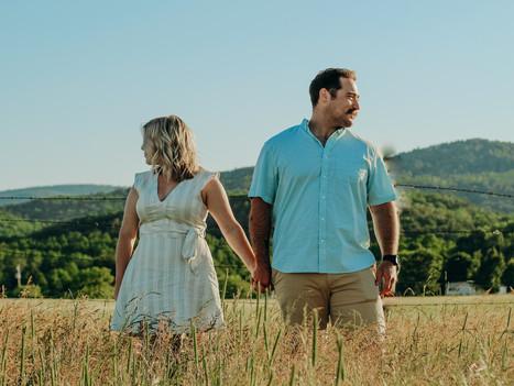 Ticonderoga, New York // Adirondack Mountains || Couples Session
