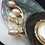 Thumbnail: Oyster on Mother-of-Pearl and Shell Pendant Brooch