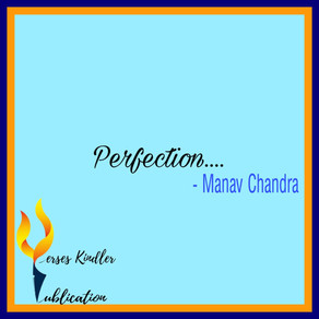 Perfection - Manav Chandra