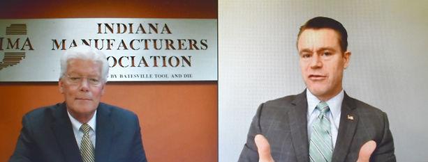 Brian Burton and Todd Young HOF Virutal