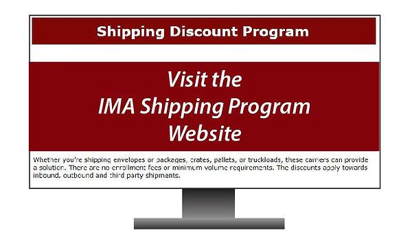IMA SHIPPING PROGRAM Website Image for b