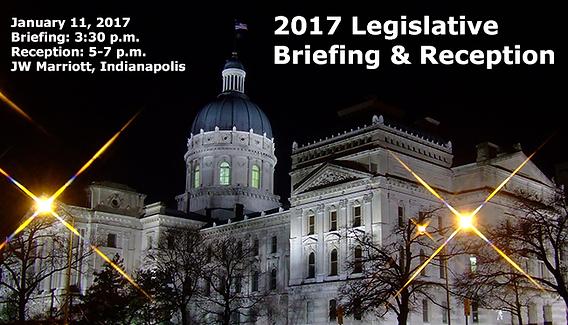 2017 Indiana Manufacturers Association Legislative Briefing and Reception