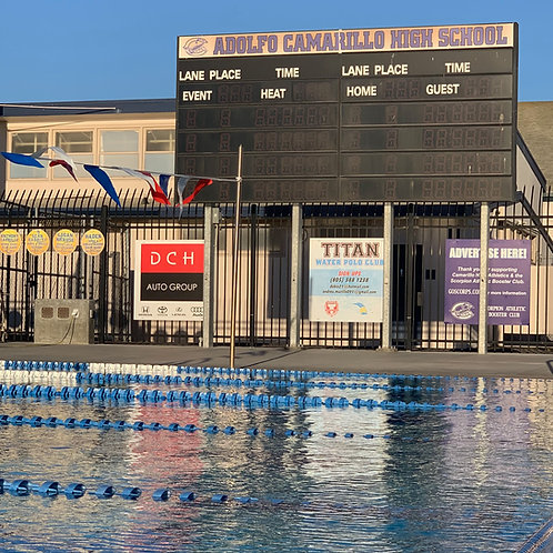 Aquatics Center Billboard 4' x 4'