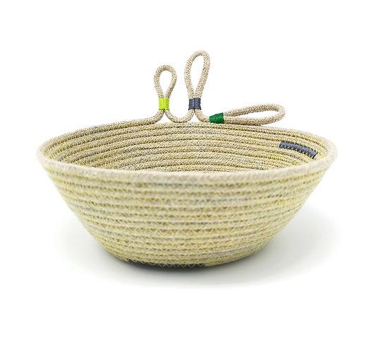 Botanical Hemp Rope Bowl