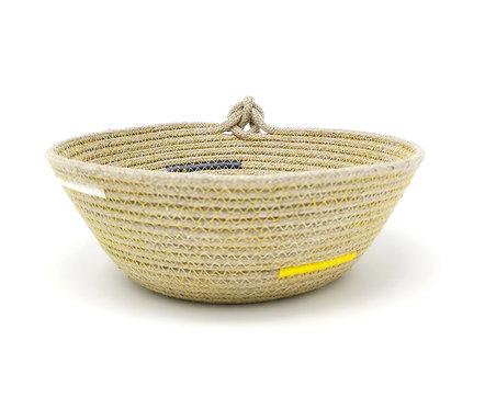 Hemp Rope Bowl - Knot Finish