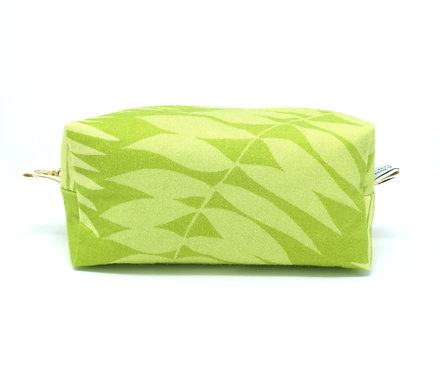 Tropical Leaves - Boxed Cosmetic Bag