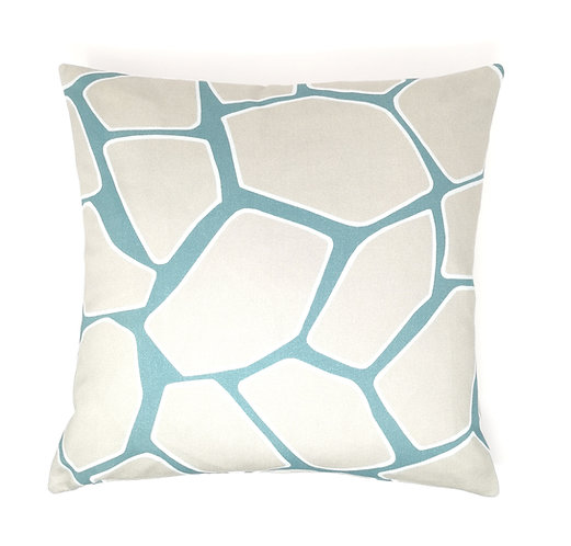 Abstract Tortoise Shell Cushion