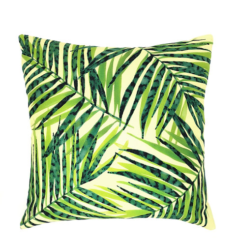 Layered Areca Palm Cushion