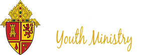 Courageous Youth Ministry logo white cou