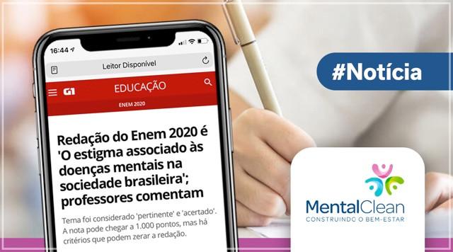 Saúde Mental é tema da redação do ENEM 2021