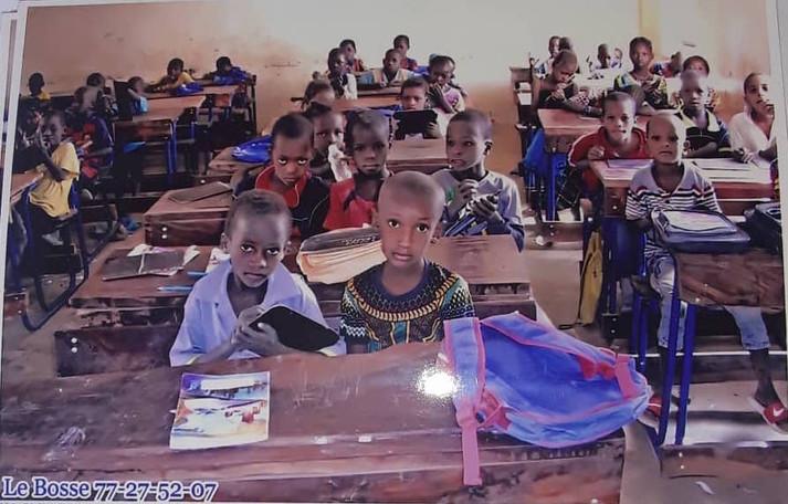 Une salle de classe février 2021