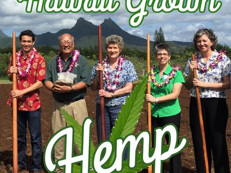 We're Creating a new Hemp Industry in Hawai'i!