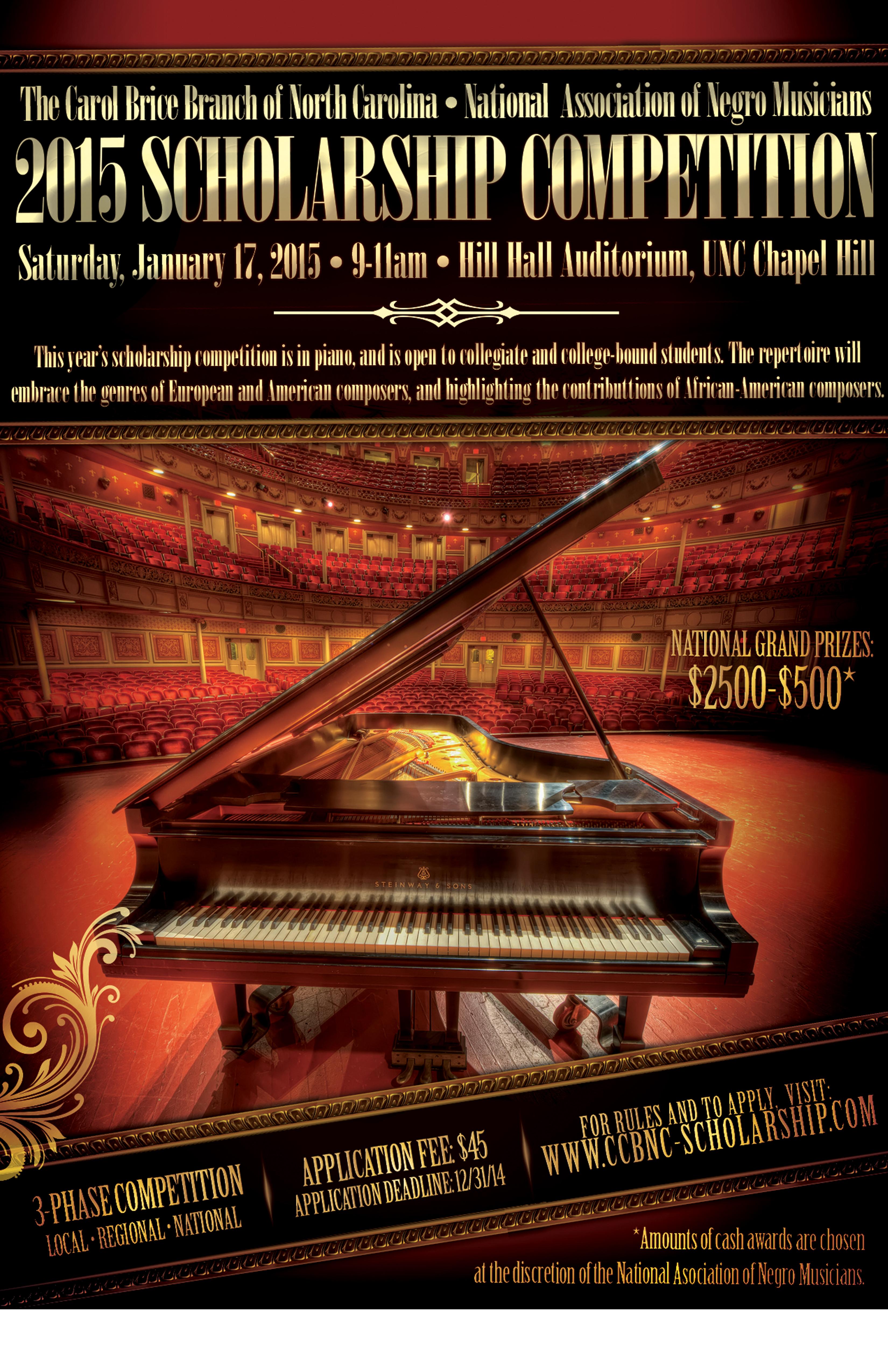 2015 Scholarship: Piano