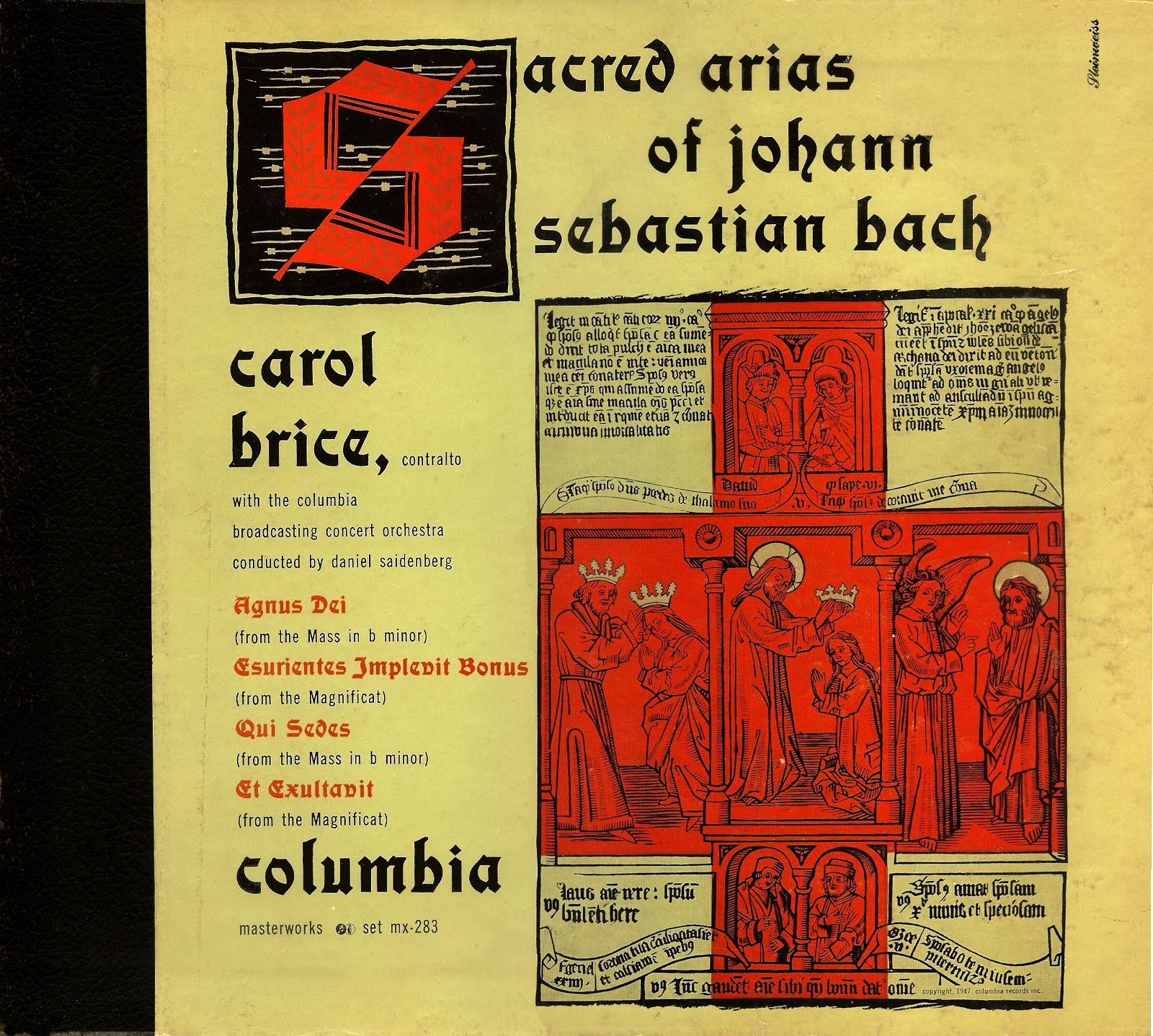 Recording: Sacred Arias of J.S. Bach