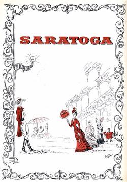 Playbill: Saratoga