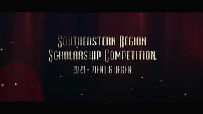 2021 Southeastern Region Scholarship Competition