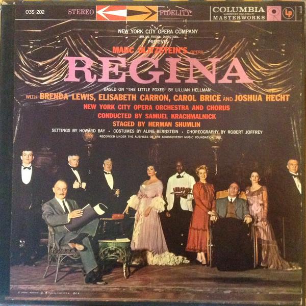 Recording: Regina