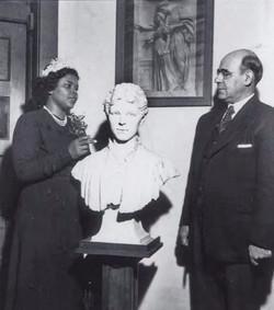 Carol Brice & Dr. Mordecai Johnson