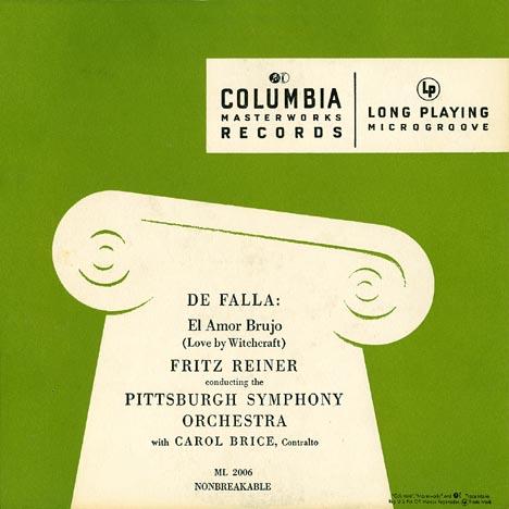 Recording: de Falla - El Amor Brujo