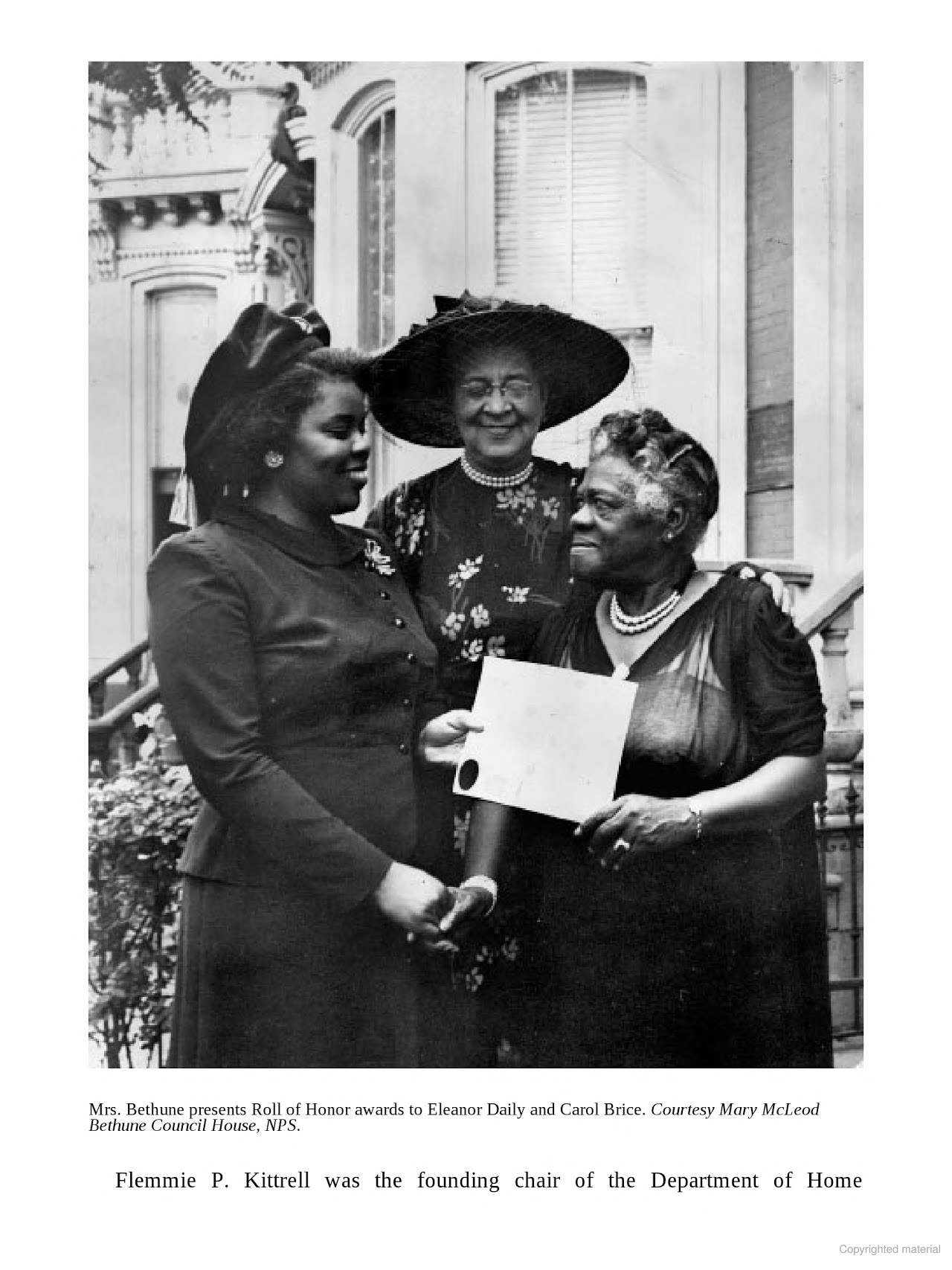 Mary McLeod Bethune in Washington, DC-Activism and Education in Logan Circle (Dr. Ida E. Jones) 05