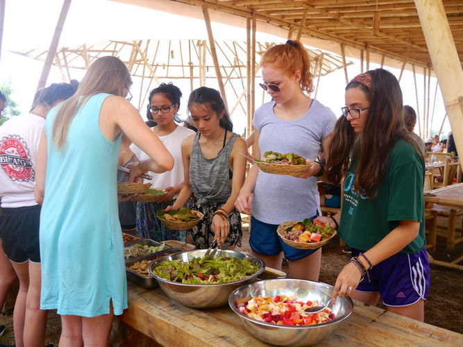 Day 3 : Road Re-construction & Balinese Cooking
