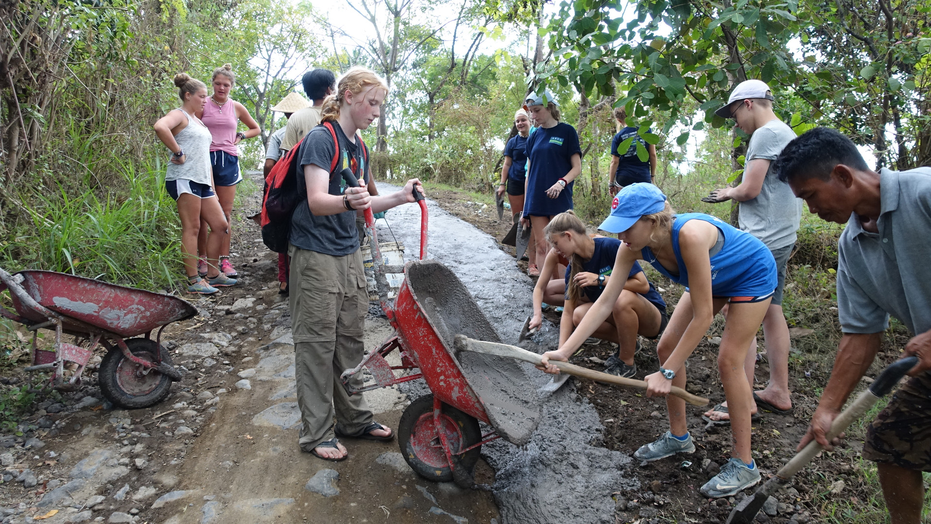 Our programs consist of meaningful, service-learning with a lasting impact on both guests and community
