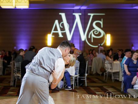 Alyssa + Steven | St. Mary's of the Knobs Wedding | Hyatt Regency Wedding Reception