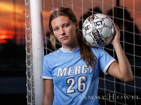 Bailee Locke | Louisville Senior Portraits | Mercy Soccer