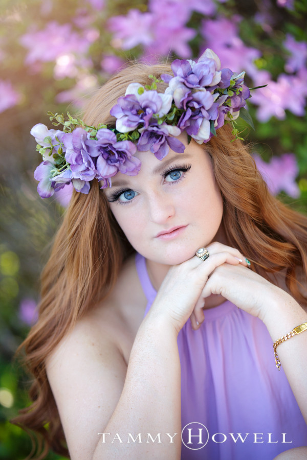 Senior Portrait Flower Crown