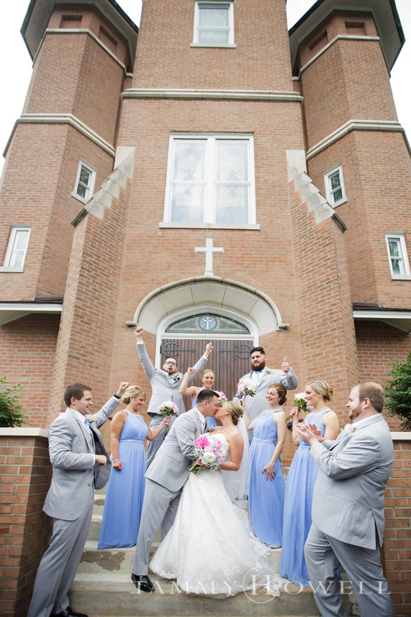St. Mary's of the Knobs Wedding