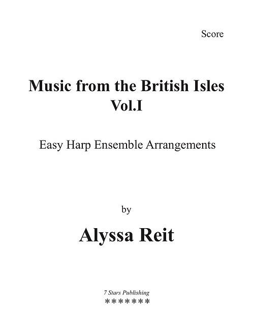 Music From the British Isles Vol. 1 (3Hp)