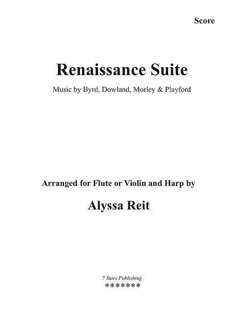 Renaissance Suite (HpFl/Vl)