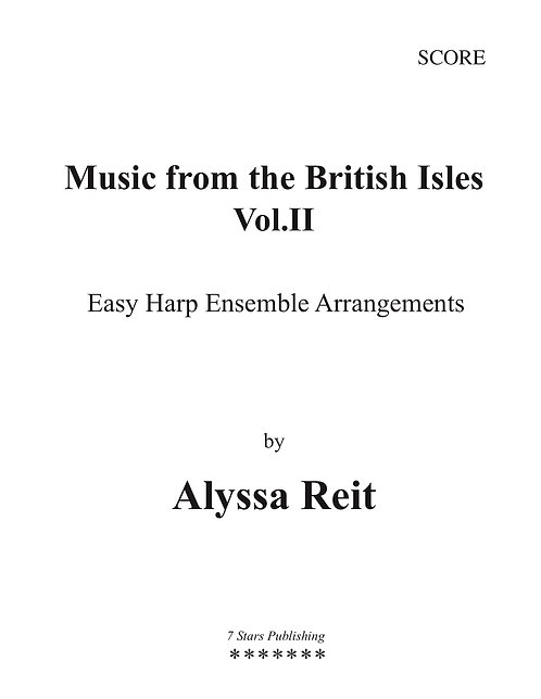 Music from the British Isles Vol 2 (3Hp)