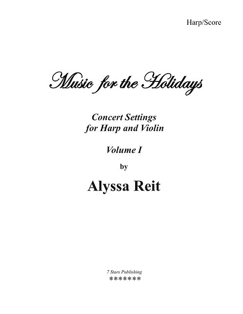 Music for the Holidays (HpFl/Vln)