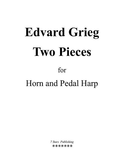 Edvard Grieg - Two Pieces
