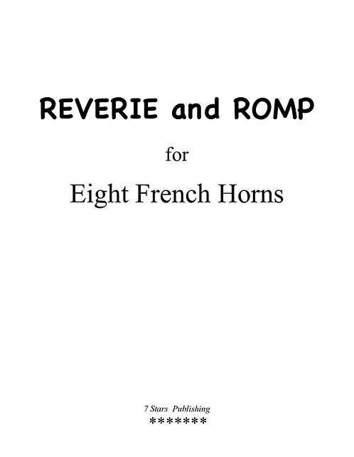 Reverie and Romp