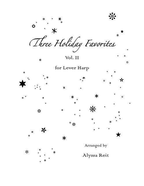 Three Holiday Favorites Vol. 2 (LHp)
