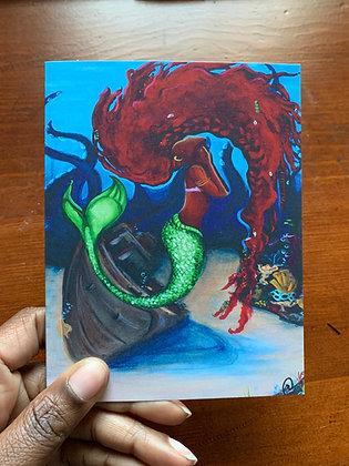Ariel Note Card