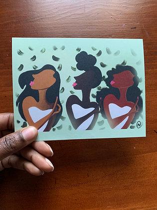 Deep In My Heart Note Card