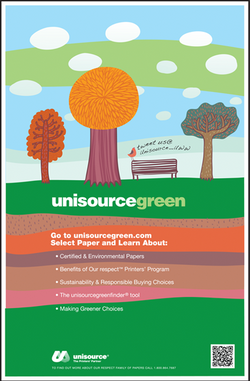 Unisource Green Ad