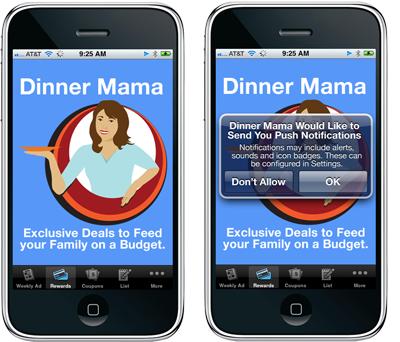 Dinner Mama Mobile