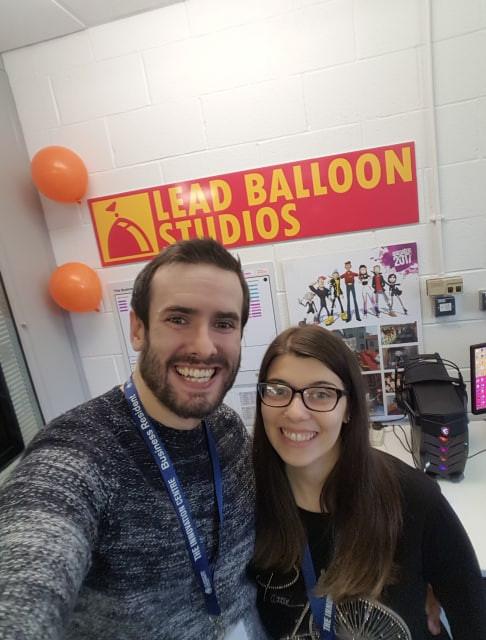 Co-Founders of Lead Balloon Studios, Northern Ireland, UK