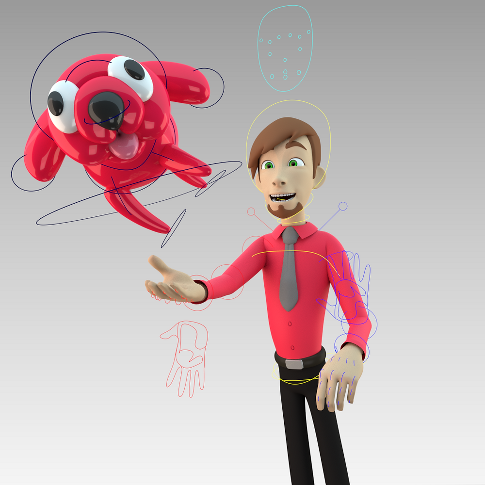 3 emerging technology and commercial trends shaping the Animation Industry in 2021. 3D mascot from Lead Balloon Studios, animation studio, UK.